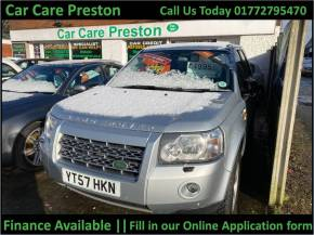 Land Rover Freelander 2.2 Td4 GS 5dr Estate Diesel Silver at Car Care Preston Preston