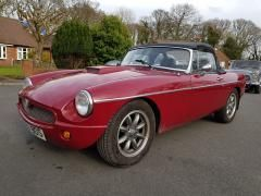 MG MGB 2.0 mgb b Convertible Petrol RedMG MGB 2.0 mgb b Convertible Petrol Red at Car Care Preston Preston